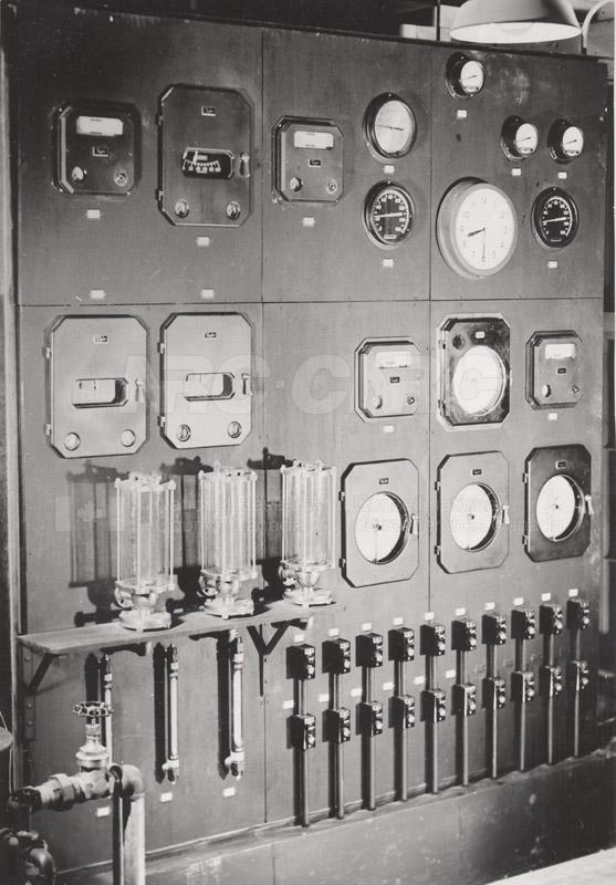 Instrument Control Panel- Pilot Plant