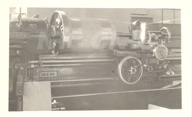 Model Standard of Mutual Inductance Being Wound in NRC Shop 1936 003