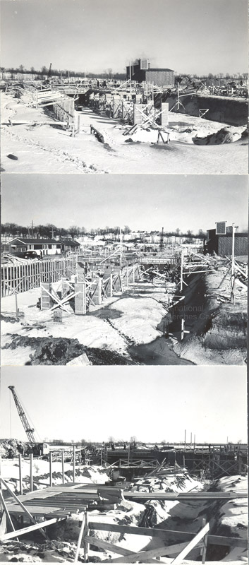 Construction of M-50 Feb. 6 1952 #3023 001