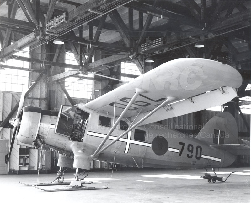 Stress Tests on Aircraft Skis 1947-1949 001