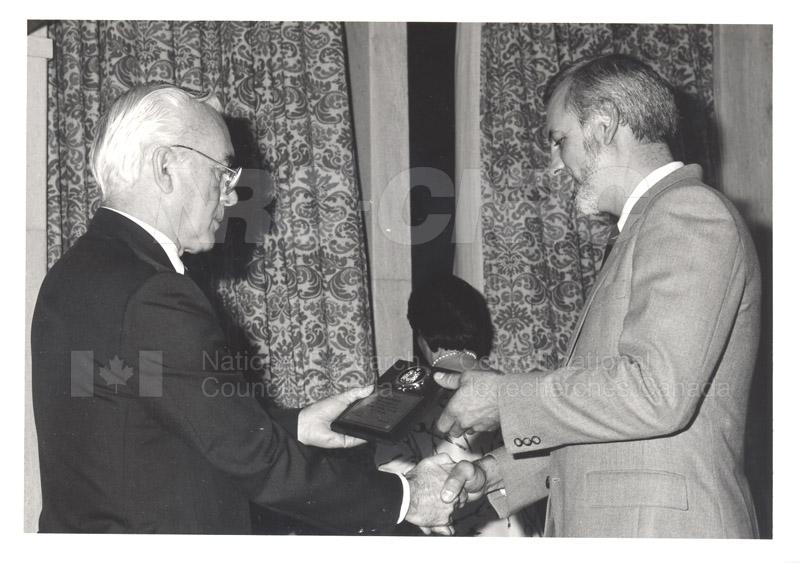 25 Year Service Presentations Oct. 29 1986 010