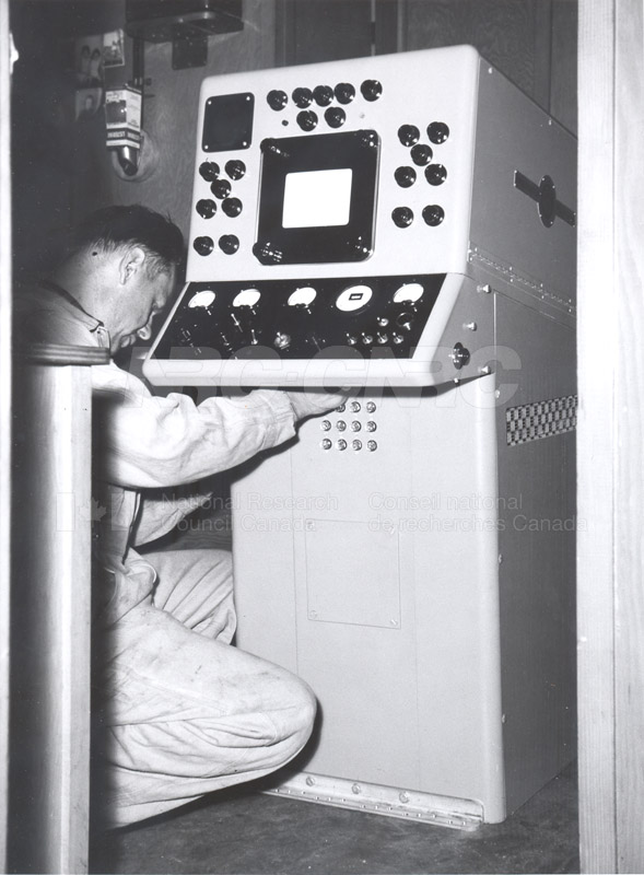 Underwater TV Operation Project 1 St. Andrews N.B. Dec. 1 1955 002