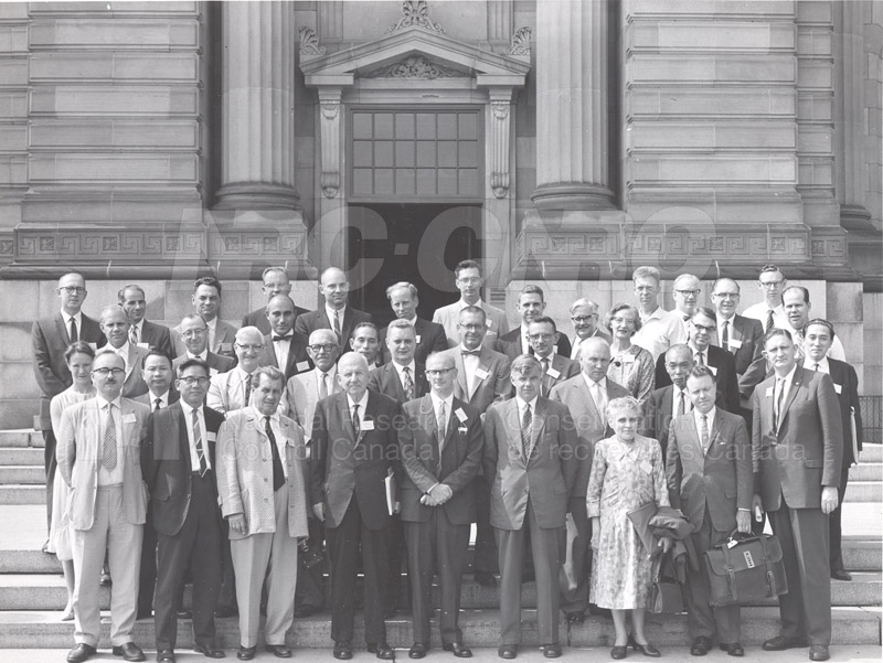 Group Portrait Meeting of International Culture Collection People 1962