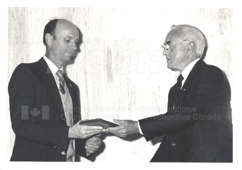 25 Year Service Presentations June 8, 1988 003
