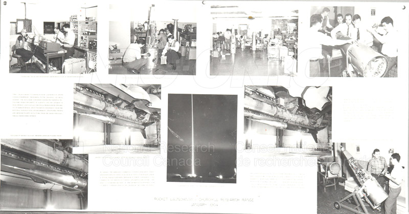 Black Brant- Rocket Launching- Churchill Research Range January 1964