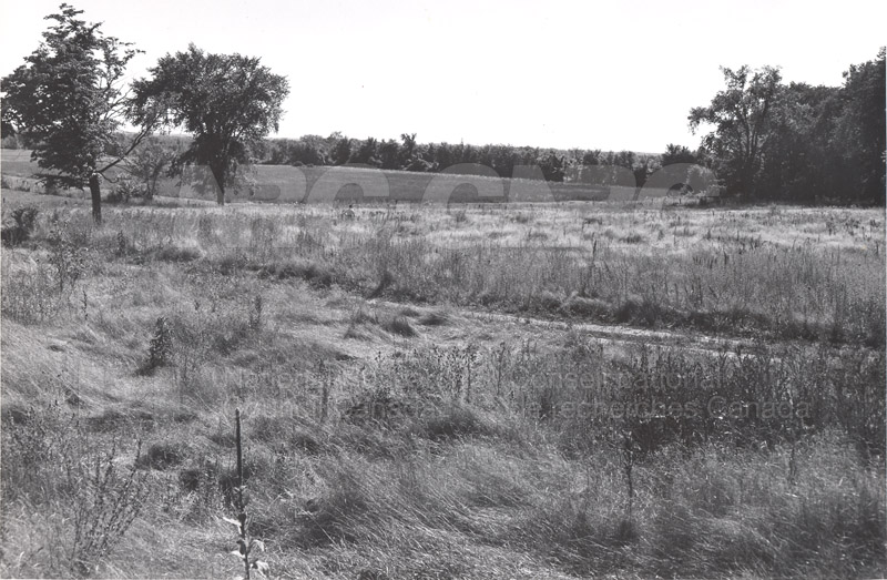 Site of Radio & E.E. Building (M-50) Before Construction- Mtl. Rd. Campus 006