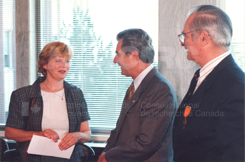 Canadian Society of Mechanical Engineering (CSME) honouring the Division of Mechanical Engineering 25 Aug. 1997 006