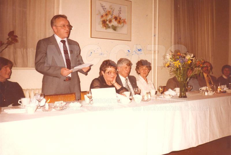 Retirement - D.G. Smith (ARL) 1985 001