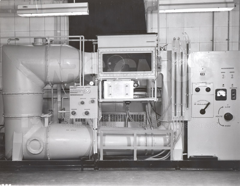 Water Tunnel for Testing Three-Dimensional Midels of Aircraft Fans, etc. 1961