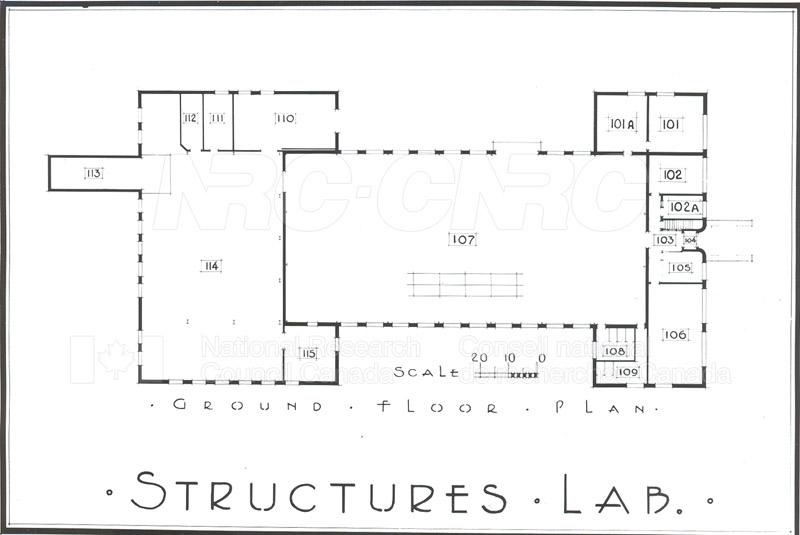 Buildings- Floor Plans Sept. 1948 003