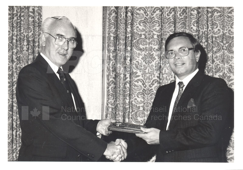25 Year Service Presentations Oct. 29 1986 021
