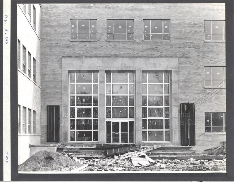 Construction of M-50 April 2 1953 #3381 005