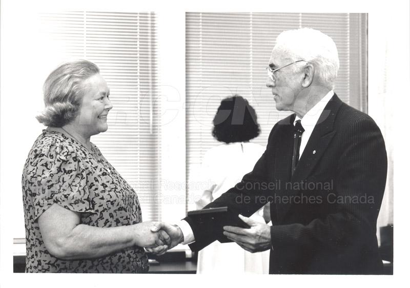 25 Year Service Presentation Sept. 12 1989 017