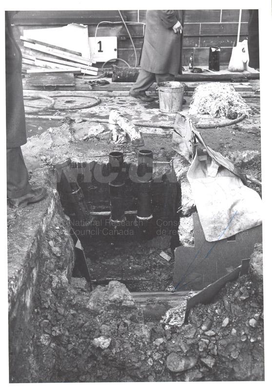 Punctured Conduit (Sussex Drive & H.E.P. Plant) c.1959 002