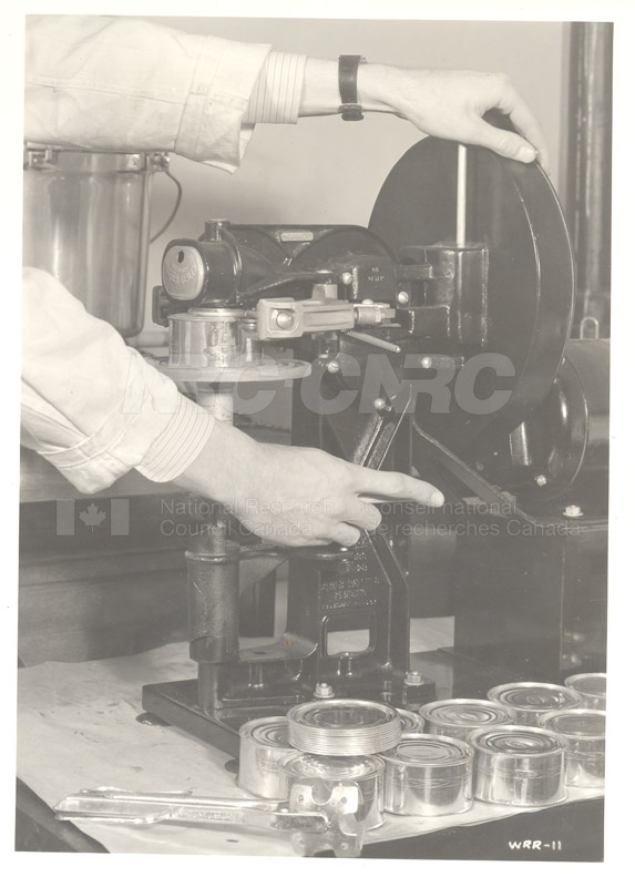 Canning Laboratory- Can Sealing Apparatus c.1940 001