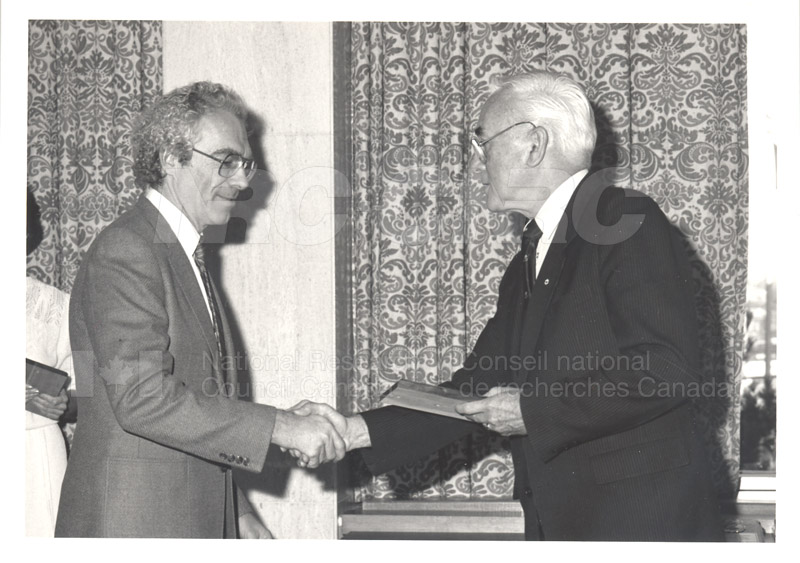 25 Year Service Presentations Nov. 1985 021