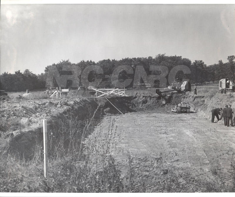 Construction of M-50 Sept. 20 1951 Photos C-3931 002