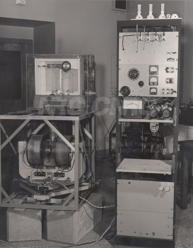 Metallurgy- Magnetic Susceptibility Apparatus June 1954 001
