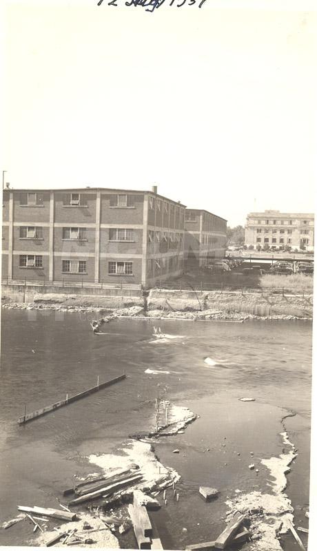 John St. Annex- Rideau Falls 100 Sussex in Background July 12, 1937