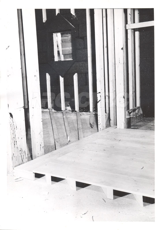 Cold Room- Another View of ''3 x 3'' Battens that Form the Foundation for the -70 degrees Fahrenheit Room