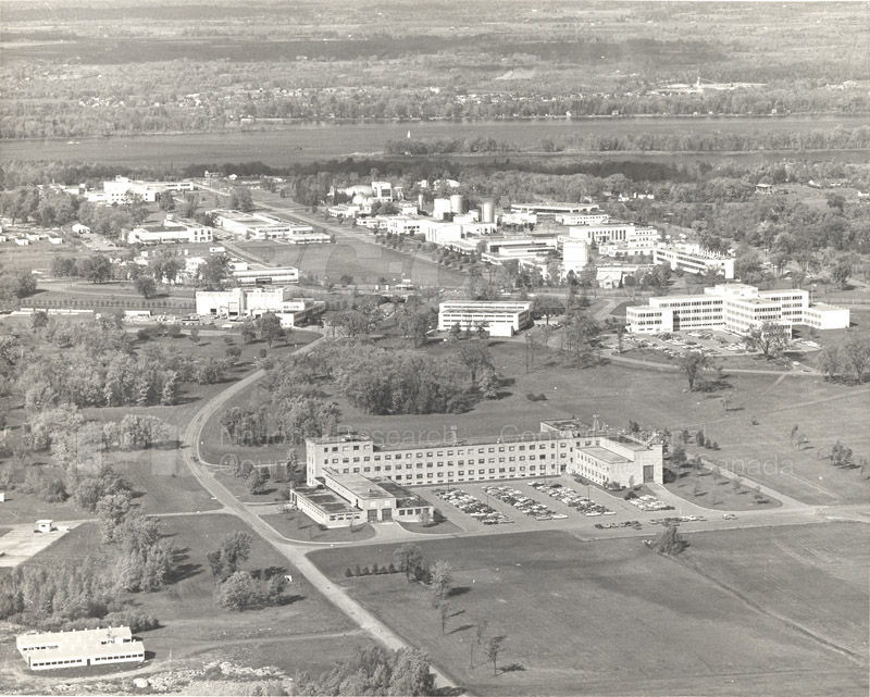 Montreal Road Campus Aerial View 1960's 009