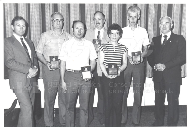 25 Year Service Plaques Presentations 1984 042