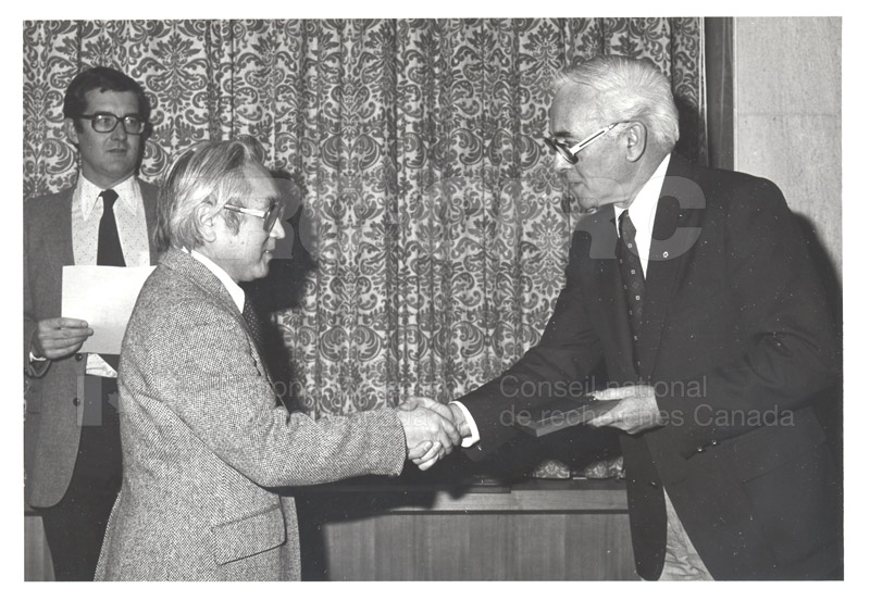 25 Year Service Plaques Presentations 1981 035