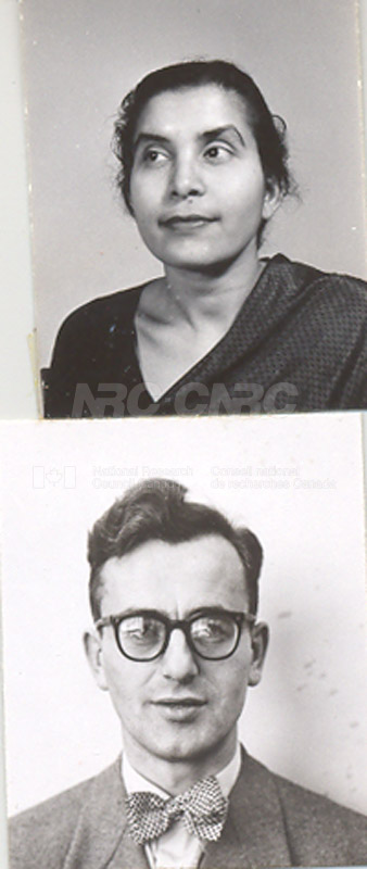 Photographs of Postdoctorate Issue 1957 113