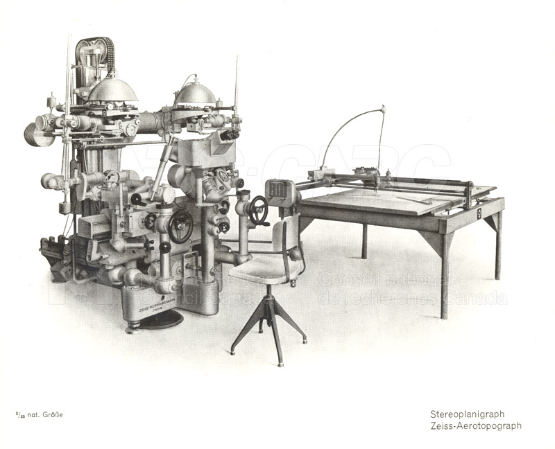 Various Continental Stereo Plotters 1939 008