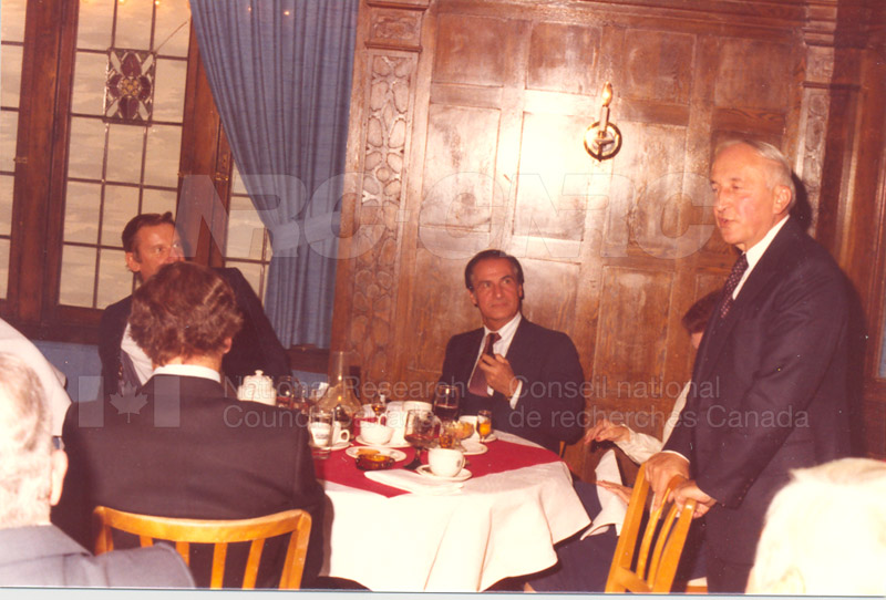 Farewell Dinner for W.G. Schneider 1980 014