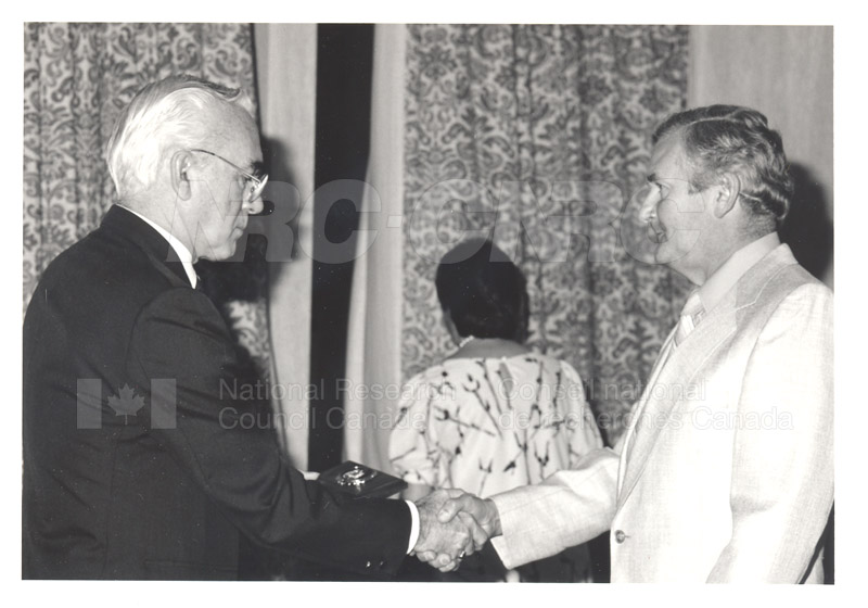 25 Year Service Presentations Oct. 29 1986 020