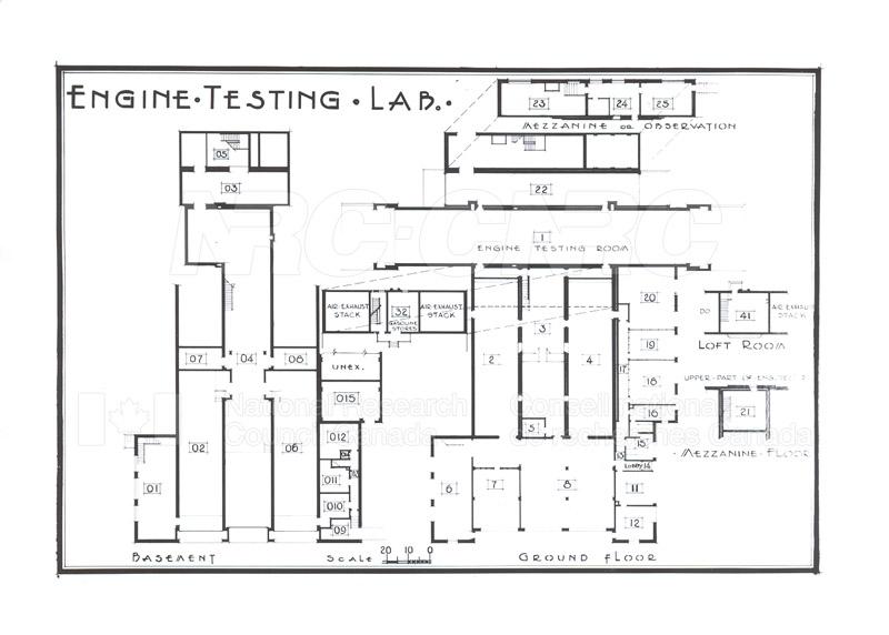 Buildings- Floor Plans Sept. 1948 012