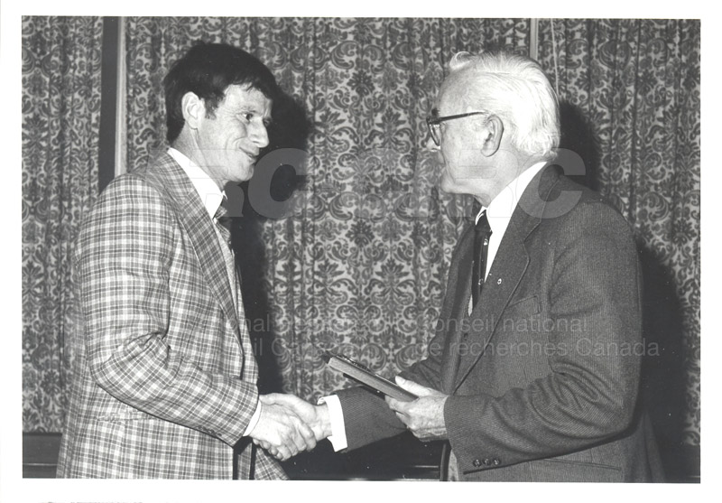 25 Year Service Plaques Presentations 1981 011