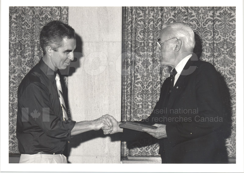 25 Year Service Presentations Nov. 1985 018