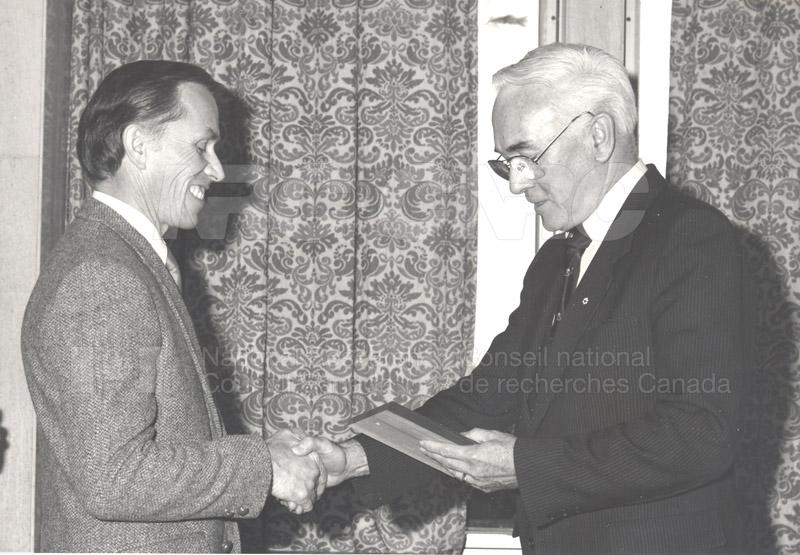 25 Year Service Presentations Nov. 1985 005