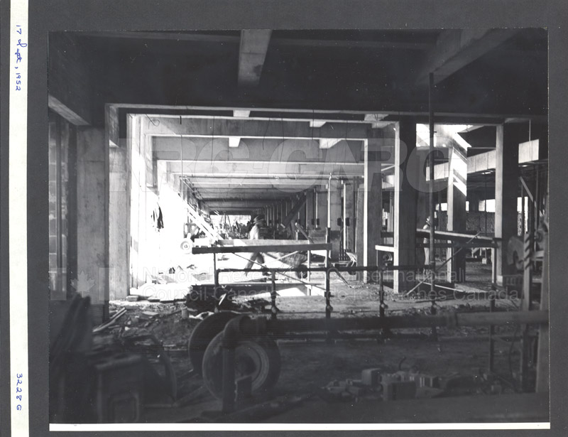 Construction of M-50 Sept. 17 1952 #3228 007