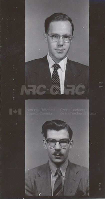 Photographs of Postdoctorate Issue 1957 074