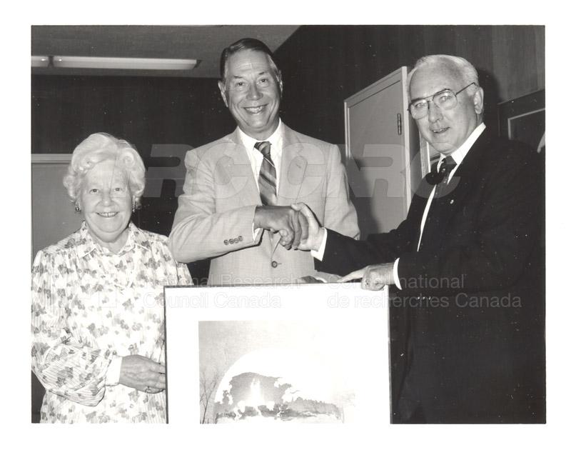 D.A. Ramsay - 40 Year Service Presentation 12 Aug. 1987 001
