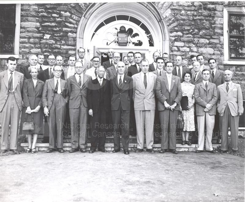 Faraday Society McGill University 1942 002