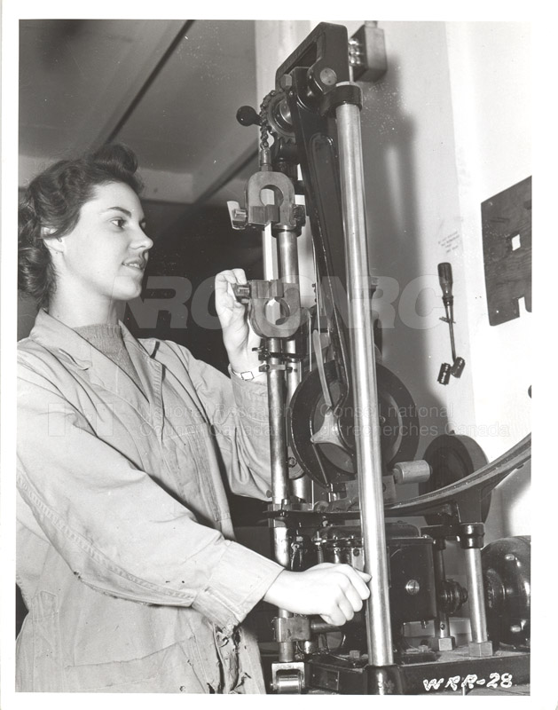 Textiles- Testing Strength c.1940