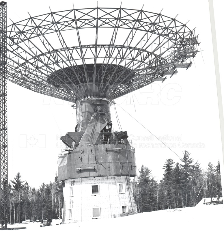 Algonquin Observatory- Construction of the 150 ft. Radio Telescope c.1965 002