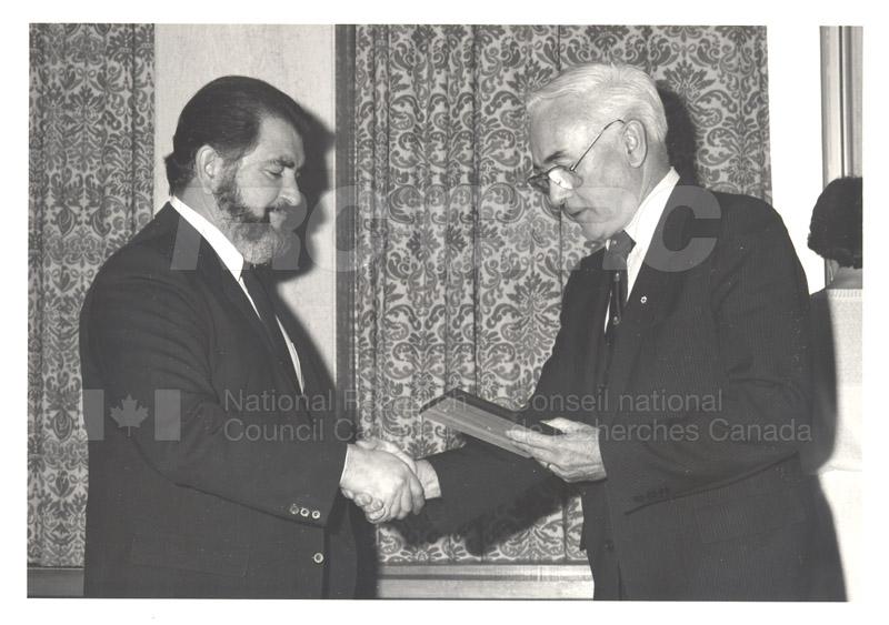 25 Year Service Presentations Nov. 1985 006
