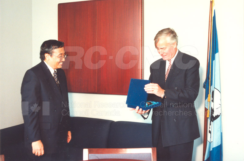 Agreement Signing Indonesian Institute of Sciences 10 Sept. 1997 002