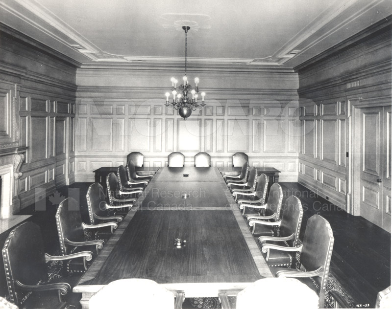 100 Sussex Drive- Council Chamber Room 1147 (KK-23) July 1932