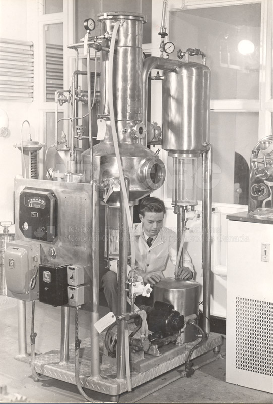 Food Chemistry- Low Temperature Evaporator c.1948