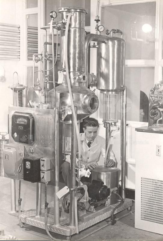 Food Chemistry- Low Temperature Evaporator c.1948