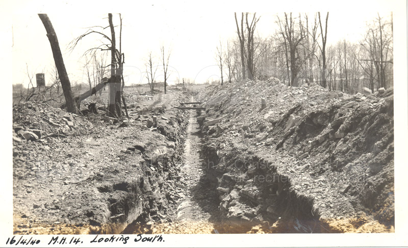 Album 12 New Annex 2 M.H.14 Looking South April 16 1940