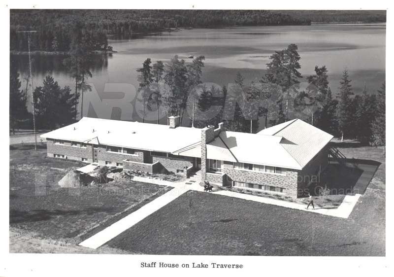 Staff House on Lake Traverse