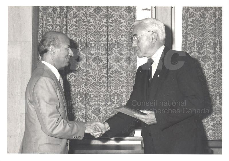 25 Year Service Presentations Nov. 1985 004