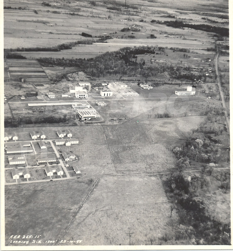 Montreal Road Campus Aerial View 1960's 005
